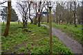 SX5155 : Signpost, Route 27 by N Chadwick