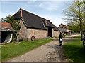 TL8647 : The Great Barn, Kentwell Hall by PAUL FARMER