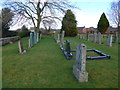 NY3250 : St Andrew, Thursby: churchyard (d) by Basher Eyre