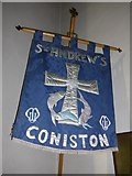 SD3097 : St Andrew, Coniston:banner (i) by Basher Eyre