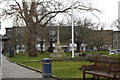 SZ6399 : War Memorial, Portsmouth Cathedral by N Chadwick