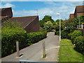TQ6688 : Footpath through housing at Laindon by Malc McDonald