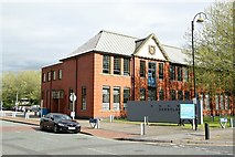 SJ7996 : The Schoolhouse, Trafford Village by Alan Murray-Rust