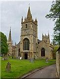 SP0343 : Three towers at Evesham by Paul Harrop