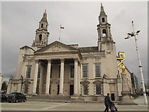 SE2934 : Leeds Civic Hall by Stephen Craven