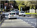 SU9559 : Pedestrian Controlled Traffic Lights, Guildford Road, Bisley by David Dixon