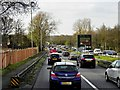 SU9163 : Heavy Traffic on the A322 at Bagshot by David Dixon