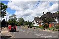 TQ4468 : Postman in Birchwood Road by Des Blenkinsopp