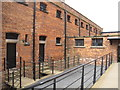 SK9771 : Lincoln Castle Victorian prison by David Hawgood