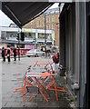 ST5774 : Wet day, Whiteladies Gate by Derek Harper