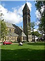 NZ2566 : Bell Tower, St George's Church, Jesmond by Paul Gillett