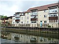 ST7365 : Flats off Upper Bristol Road, Bath by Christine Johnstone