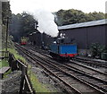 SD3584 : Steam and diesel at Haverthwaite by Jaggery