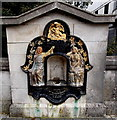 ST1876 : Former Victorian drinking fountain, Cardiff by Jaggery