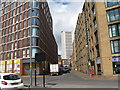 SP0786 : Essex Street northwards-Birmingham by Martin Richard Phelan