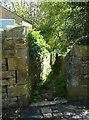 SE0226 : The top end of Hebden Royd FP36 at Midgley Road, Ewood, Mytholmroyd by Humphrey Bolton