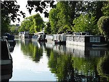 TQ2681 : Grand Union Canal, Paddington by Chris Allen