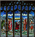 SK8091 : East window, St Paul's church, Morton by Julian P Guffogg