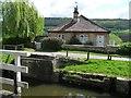 ST7865 : House at Bathampton Swing Bridge by Christine Johnstone