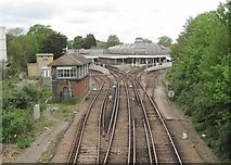 TQ4109 : Lewes railway station, Sussex by Nigel Thompson
