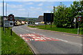 SN2117 : Speed cameras warning sign, Whitland by Jaggery