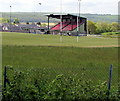 SN2117 : Rugby ground in Whitland by Jaggery