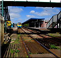 SN1916 : 70mph speed limit through Whitland railway station by Jaggery