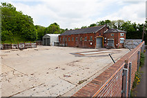 SU4828 : Premises formerly used by CD Jordan metal recycling business by Peter Facey