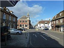 SY9287 : Wareham town centre by Bob Harvey