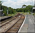 SY6890 : Two tracks into one north of Dorchester West railway station by Jaggery