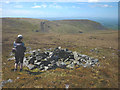 NY7721 : Pile of stones, Burton Fell by Karl and Ali