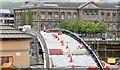 J3474 : New Lagan weir footbridge, Belfast - May 2015(3) by Albert Bridge
