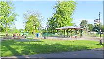 SJ6855 : Children's play ground by Garry Lavender-Rimmer
