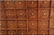 SK8608 : Oakham: All Saints' Church: The North Chapel Ceiling by Michael Garlick