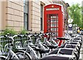 J3374 : Belfast Bikes, North Street (May 2015) by Albert Bridge