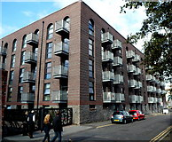 ST5772 : Steamship House flats, Bristol by Jaggery