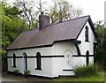 SN1316 : Henllan Lodge on A40 by welshbabe