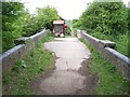 TQ0380 : Disused bridge over canal by Rob Emms