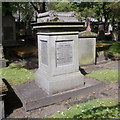 NJ9406 : John Smith monument, St Nicholas Kirkyard, Aberdeen by Bill Harrison