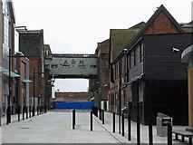 SO8217 : Gloucester Quays by Chris Allen