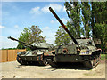 TM1793 : Tanks at the Norfolk Tank Museum by Evelyn Simak