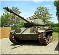 TM1793 : M41 Walker Bulldog tank by Evelyn Simak