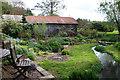 SO4860 : Croward's Mill - garden by Chris Allen