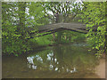 NY6024 : Iron bridge over the River Lyvennet, Crossrigg Hall by Karl and Ali
