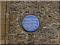 ST4316 : Plaque on Thomas Coke's house, South Petherton by Becky Williamson