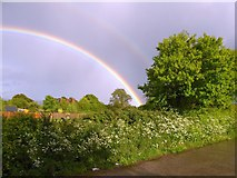 SX9487 : Rainbows over Exminster by David Smith