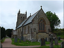 SS6644 : Christ Church, Parracombe: late May 2015 by Basher Eyre