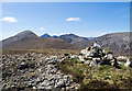 NG5825 : Summit area of Glas Bheinn Bheag by Trevor Littlewood