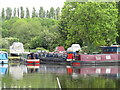 TQ0588 : Narrowboat Perch Rock in Harefield Marina by David Hawgood