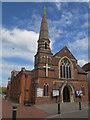 TQ0171 : Egham United Church by Stephen Craven